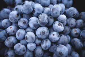 Bränna fett blåbär